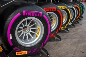 Neumáticos Pirelli F1