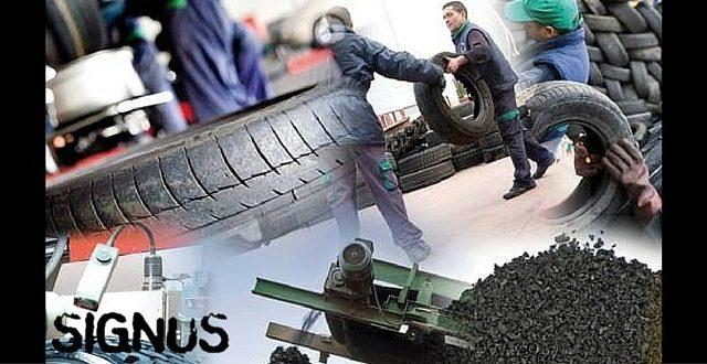 reciclaje de neumáticos SIGNUS