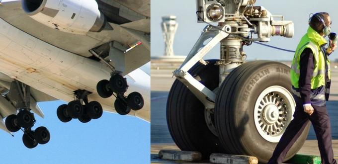 Neumáticos de avión
