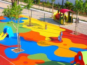 Suelo para parques infantiles