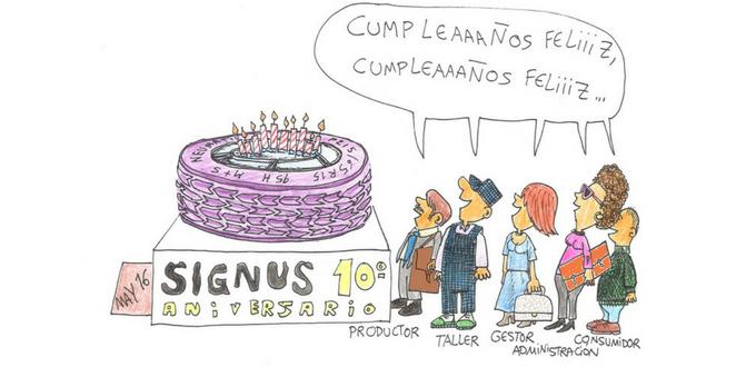 10 aniversario SIGNUS