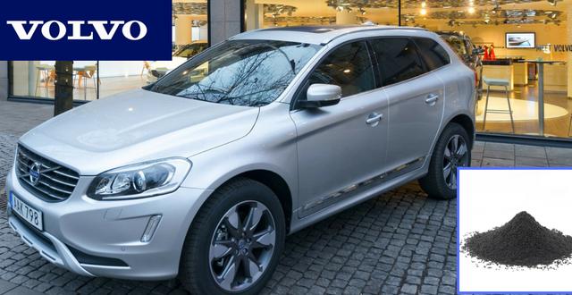 Los coches de Volvo utilizarán caucho reciclado en su fabricación