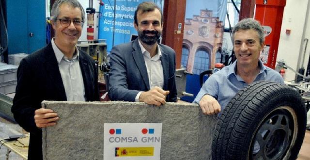 Una nueva vida de los textiles del neumático