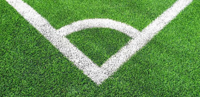Los campos de fútbol con caucho son seguros