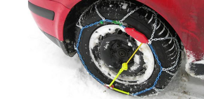 En invierno, precaución al volante