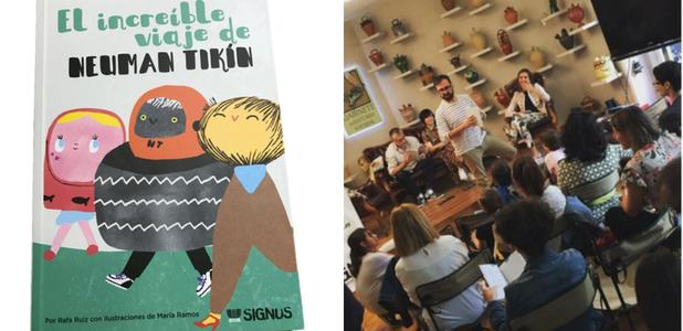 Neuman Tikín ya tiene su libro