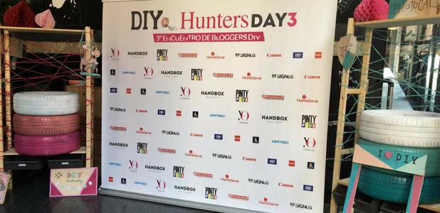 Diyeando con neumáticos en el III DIY Hunters Day