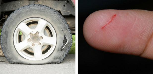 ¿Y si los neumáticos tuvieran la capacidad de autorepararse?