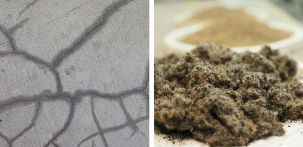 La fibra de neumático aumenta la resistencia del hormigón, según un estudio