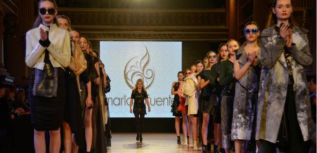 María Lafuente y el arte de transformar materiales reciclados en moda