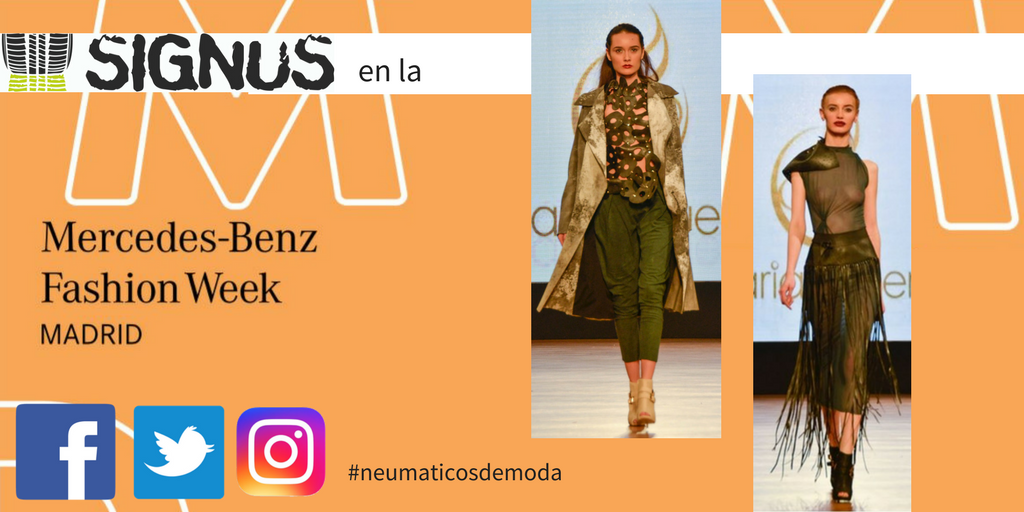 SIGNUS lleva el neumático a la Mercedes Benz Fashion Week