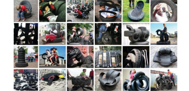 Con 'mil neumáticos' por banda, arte y diseño a toda vela