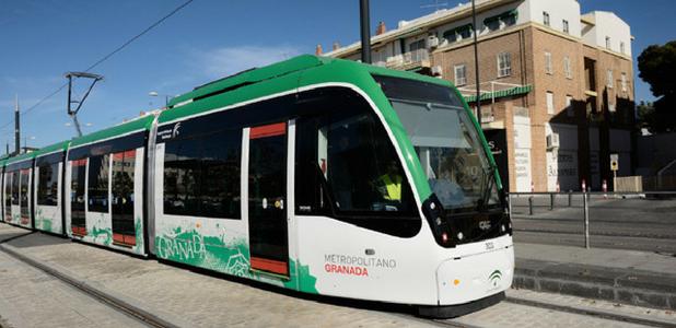 Metro de Granada abre una nueva vía para el reciclaje de neumáticos