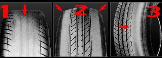 Averías que puedes reconocer mirando tus neumáticos
