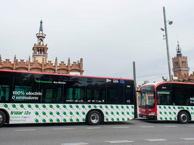 Los autobuses eléctricos comienzan a retirar los humos de las ciudades