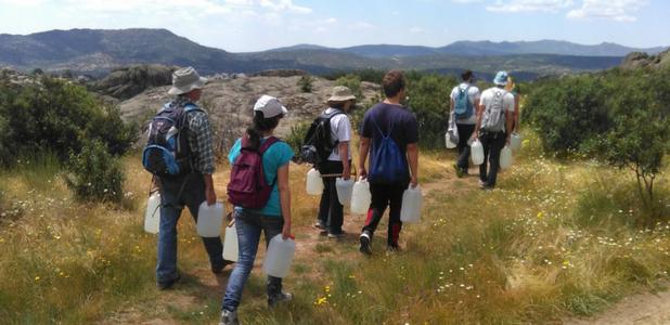 Actividades de educación medioambiental