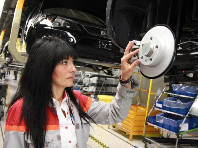 Seat Martorell la empresa con más mujeres en planta