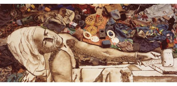 Vik Muniz, el artista brasileño que se lanzó a la fama con los recolectores de basura