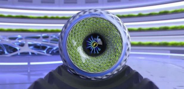 Goodyear diseña el primer neumático anticontaminación