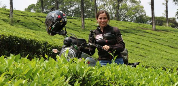 Alicia Sornosa, aventurera solidaria sobre ruedas