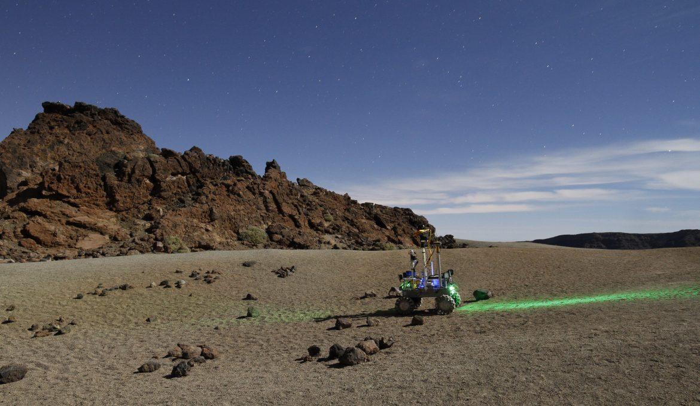 Los robots de demostración, la gaseosa de las misiones espaciales