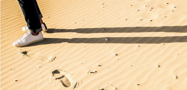 Zapatillas que ya han viajado por el mundo antes de estrenarlas