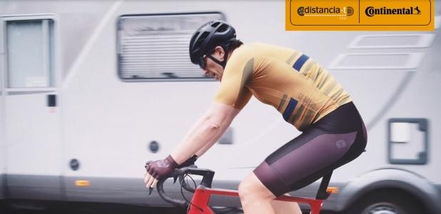 Distancia T un metro y medio para mejorar la seguridad y la convivencia entre coches y bicicletas
