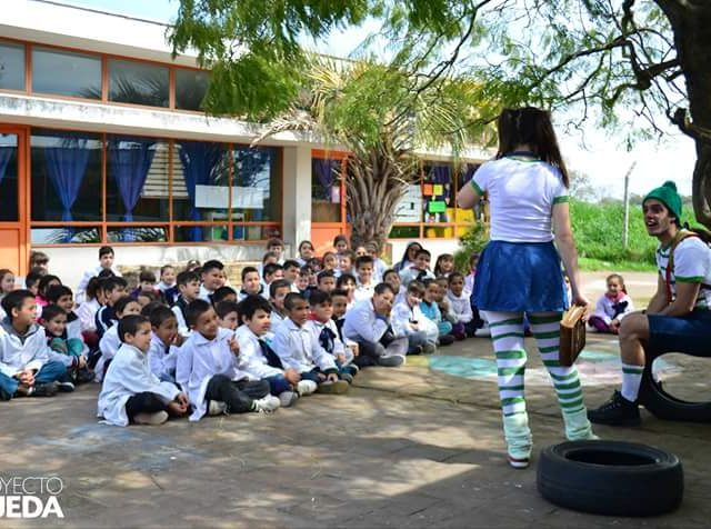 El Proyecto Rueda promueve el reciclaje y el cuidado del medio ambiente en las escuelas