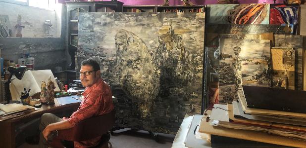 Pablo Milicua, el 'alquimista' que busca la magia y misterio de los objetos desechados