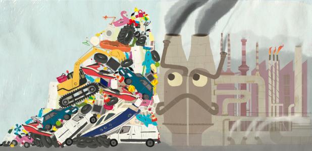 Olga de Dios, la ilustradora que transmite a la infancia el valor del consumo responsable