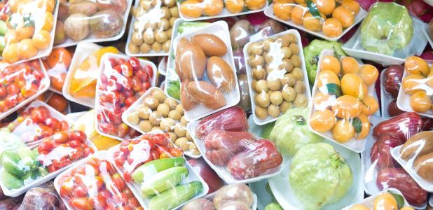 Alimentos desnudos: desplastificando la comida