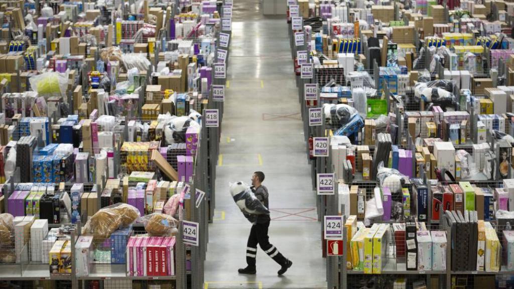 Millones de paquetes se mueven al día durante la semana del Black Friday