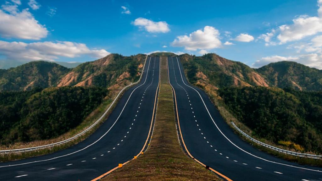 Sacyr utiliza 200.000 neumáticos reciclados para hacer una carretera en México