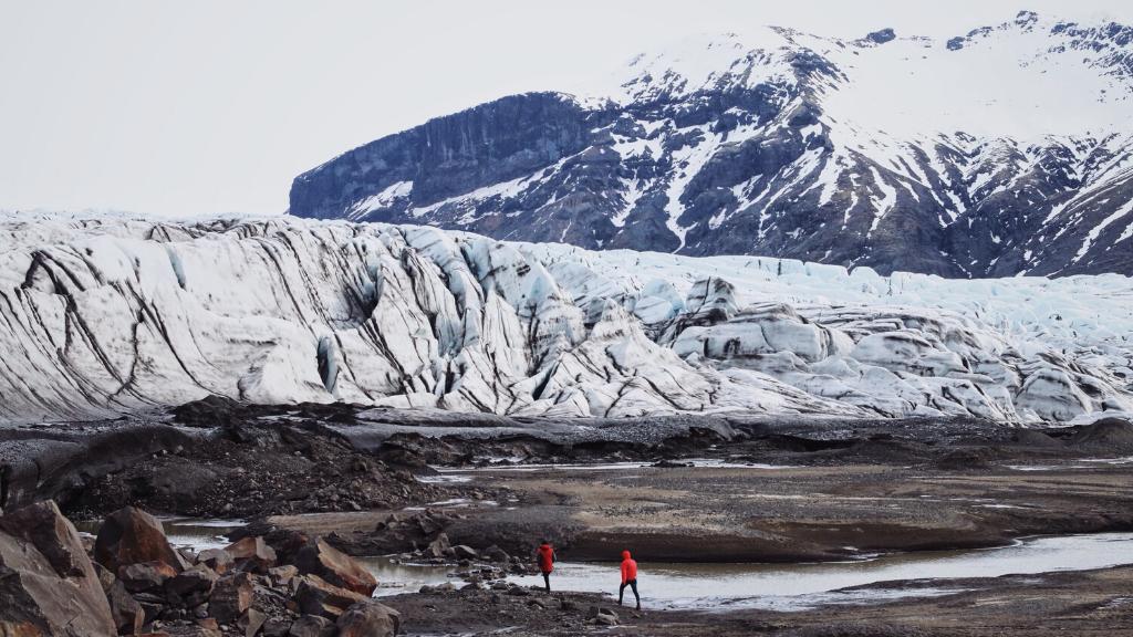Deshielo de los glaciares por causa del calentamiento global