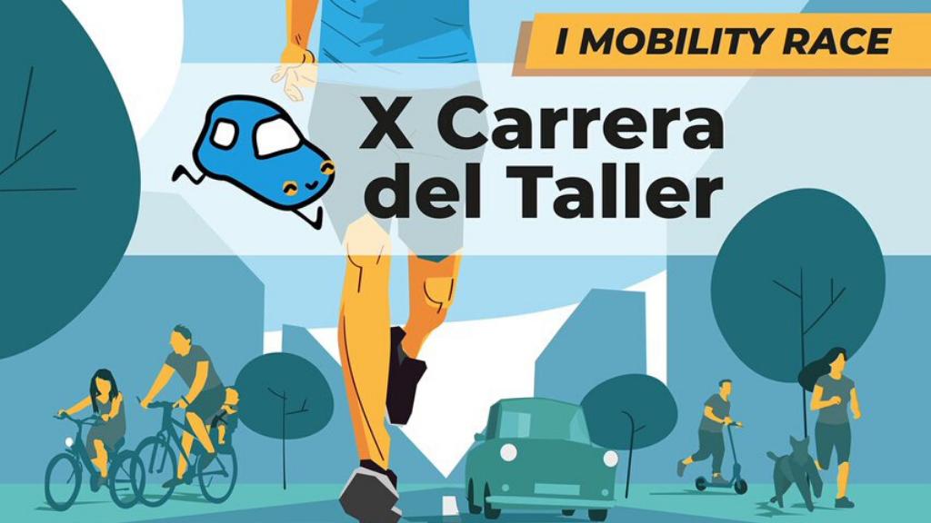 Mobility Race: X Carrera del Taller por la Movilidad Sostenible y Segura