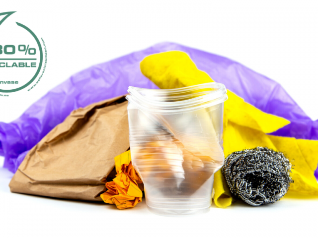 Sello de reciclabilidad de los plásticos
