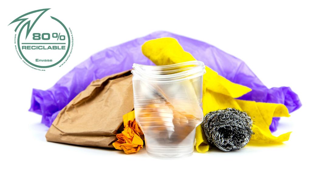 Todos los envases no son 100% reciclables: El sello que te dice la verdad