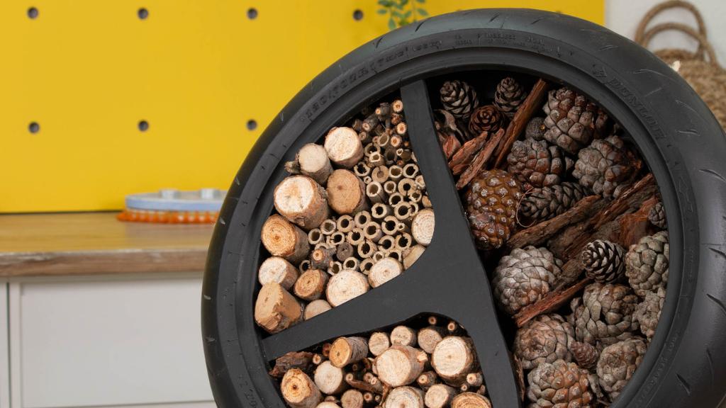 Cómo construir un hotel para insectos