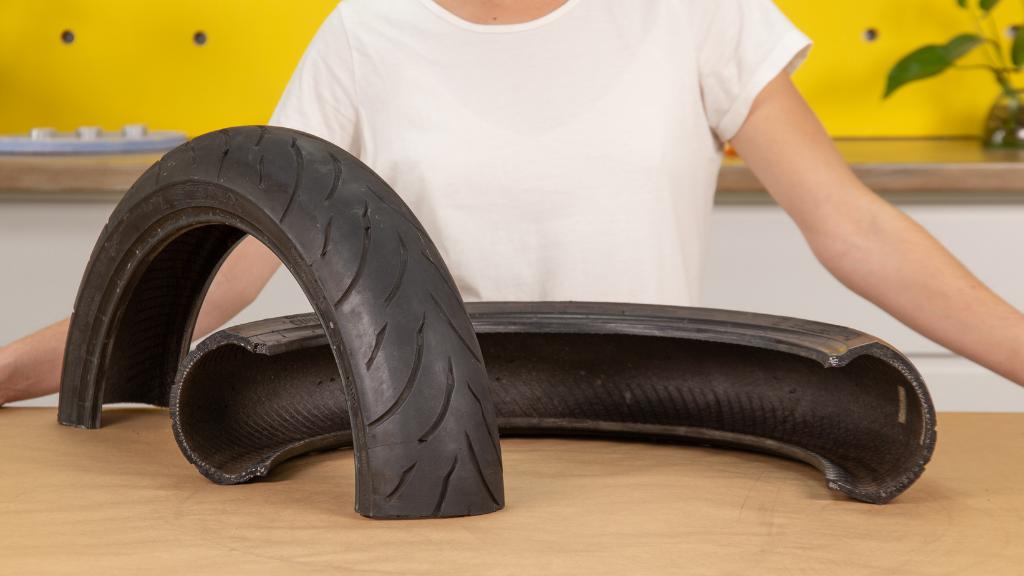 Cómo cortar un neumático en horizontal para tus proyectos DIY