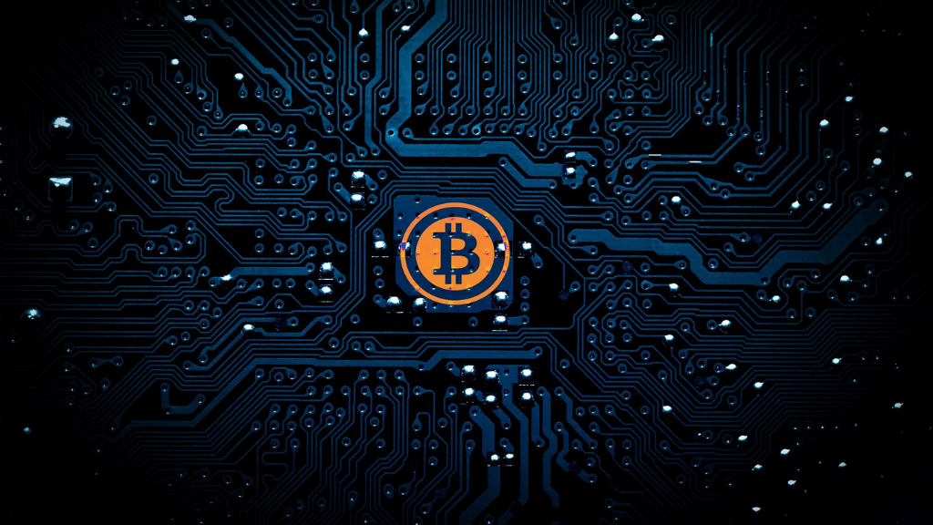 Bitcoin como núcleo de un microchip