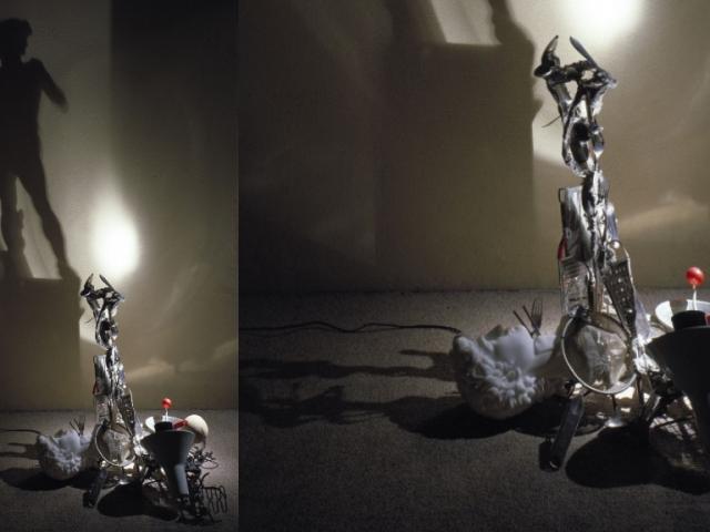 Cómo hacer el David de Miguel Ángel con un colador y un pasapuré