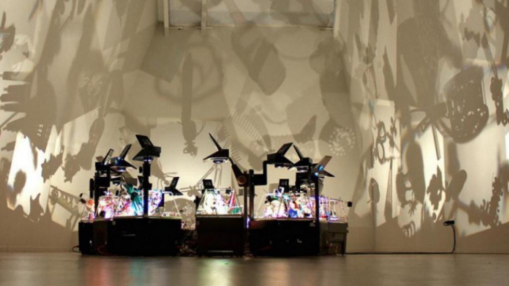 Obra de Diet Wiegman creadas a partir del uso de la luz y las sombras