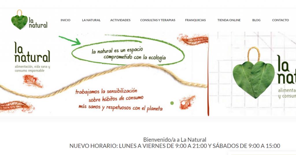 Tienda ecosostenible La Natural