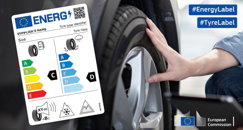 Aprende a descifrar las nuevas etiquetas de tus neumáticos