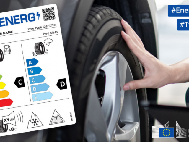 Nueva etiqueta informativa para los neumáticos de venta en la UE