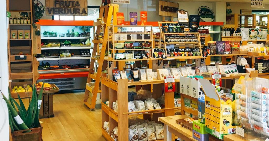 tiendas especializadas en alimentación ecológica